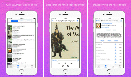 LibriVox Audio Books is one of the best Free Audiobook Apps for Your iPhone in 2019.