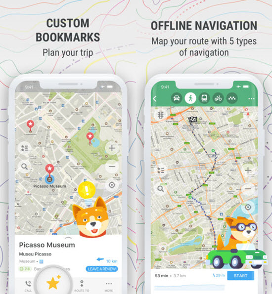 Best Offline Navigation Maps Apps for iPhone and iPad 2019 on iphone software, iphone youtube, apple maps app, itunes app, iphone gps apps, iphone ios, iphone ipad, iphone applications, iphone with map, bing maps app, iphone itunes, iphone google, iphone tips, smartphone map app, iphone map directions, iphone 5s, iphone windows, iphone apps logo,