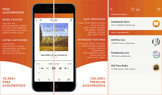 Free Audiobooks HQ is one of the best Free Audiobook Apps for Your iPhone in 2019.