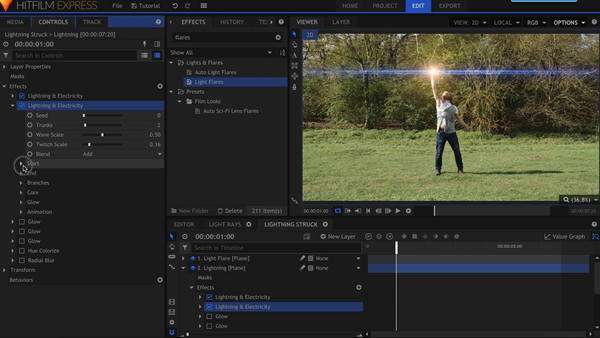 HitFilm Express is Free Professional Video Editing Software for PC.