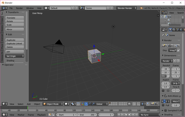 Blender is Best Free Video Editing Software for 3D Video.