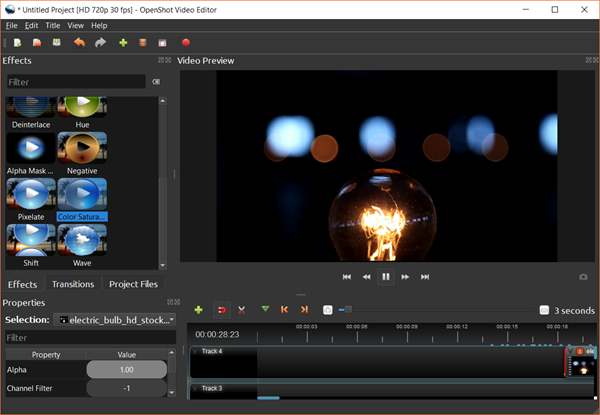 OpenShot is Best Free Video Editing Software for Beginners.