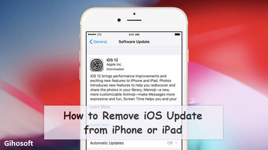 How to Delete the Downloaded iOS Update on iPhone