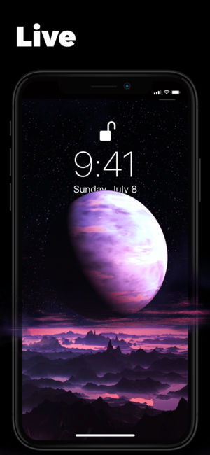 Best 7 Live Wallpaper Apps For Iphone Xs Max Xs X 8 7 6