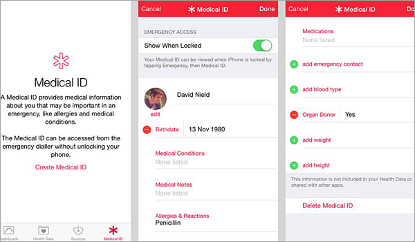 Using third-party in Case of Emergency Apps