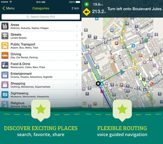 Best Offline Navigation Maps Apps for iPhone and iPad 2019