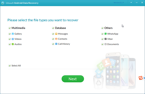 Recover deleted files from Android.