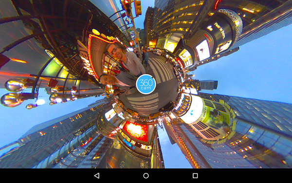 360cam is best 360 Degree Camera Apps for Android.
