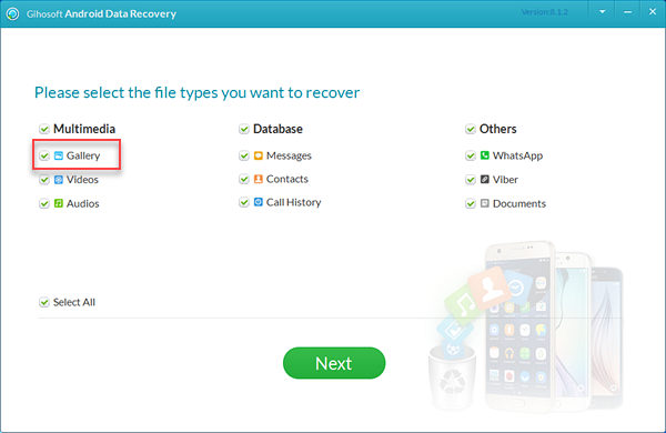 sing Android Photo Recovery Software