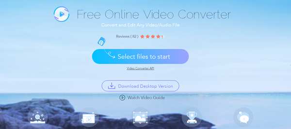 Apowersoft Video Converter is one of the top best Websites to Convert AVI to MP4 Free Online.