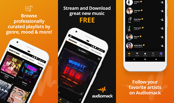 Audiomack is one of the best Offline Music Apps for Android.