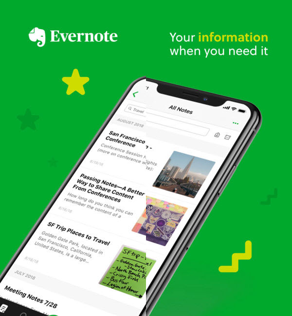 Evernote is one of the best To-do List Apps for Your iOS Device.