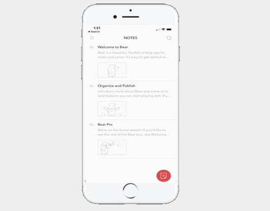 Bear is one of the best To-do List Apps for Your iOS Device.