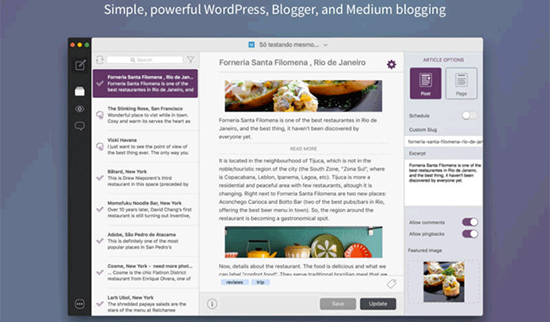 Blogo is best Blogger Apps for iPhone and iPad.