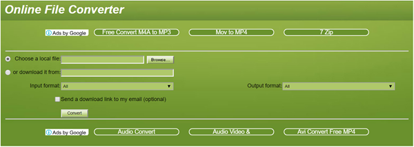Convert.Files is one of the top best Websites to Convert AVI to MP4 Free Online.