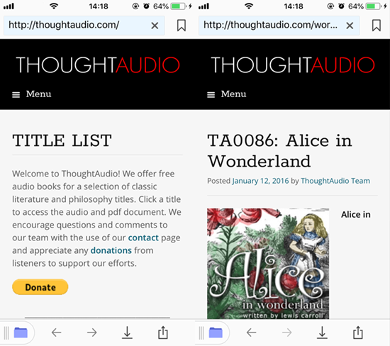 How to Download Free Audiobooks on iPhone without PC