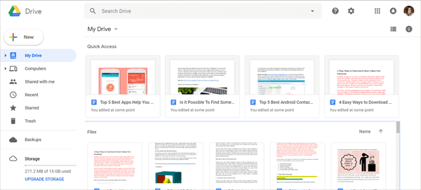 Google Drive is one of the top Best Free File Sharing Sites to Share Large Files Online.