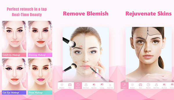 InstaBeauty - Makeup Selfie Cam is one of the best Face Beauty Camera Apps For Android.