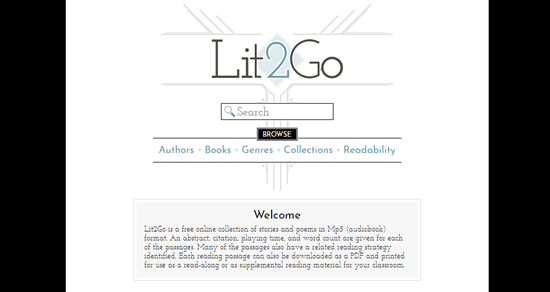 Get Audiobooks for iPhone/iPad with Lit2Go