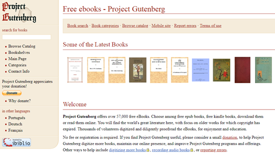 Get Audiobooks for iPhone/iPad with Project Gutenberg