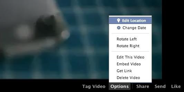 Rotate Video on Facebook after Uploading