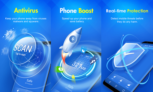 Super Security is one of the best Free Security Apps for Android Virus Protection.