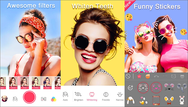Sweet Selfie is one of the best Face Beauty Camera Apps For Android.