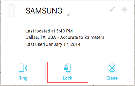 Using Android Device Manager to Unlock Android Phone with Broken Screen.