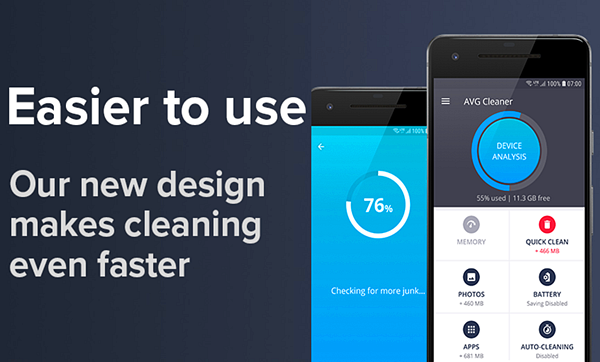 AVG Cleaner is best free Cleaner and Booster Apps for Android Phones.