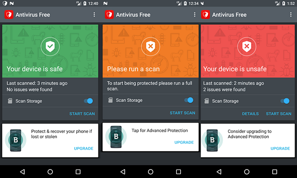 Bitdefender Antivirus Free is one of the best Free Virus Removal Apps for Android.