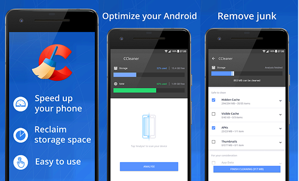 10 Best Cleaner Apps for Android Phones in 2019