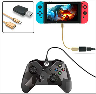 Connect DualShock 4 using an OTG cable