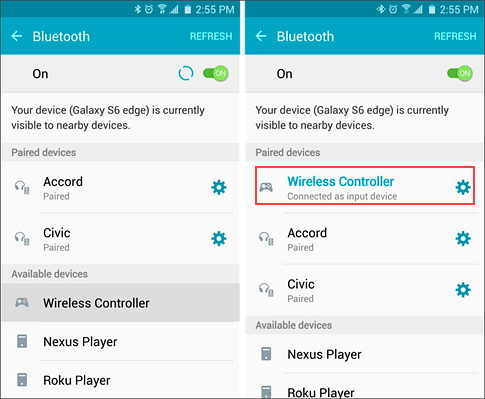 Connect your DualShock 4 to Android Phone