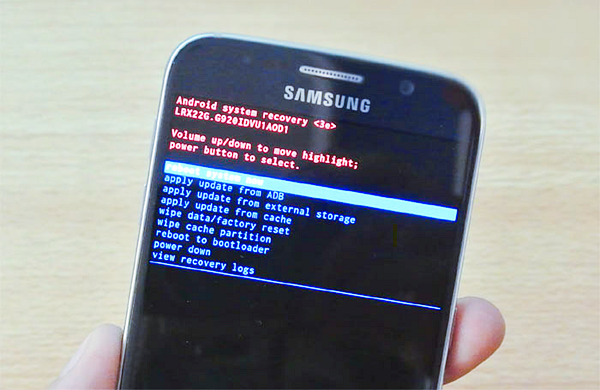Enter Into Recovery Mode to Format Your Android Phone.