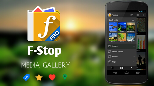 F-Stop Gallery is best gallery apps for Android.