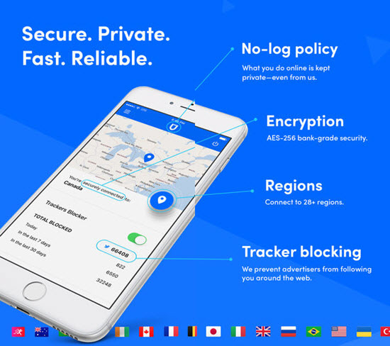 SurfEasy VPN is one of the best VPN Apps for iPhone.