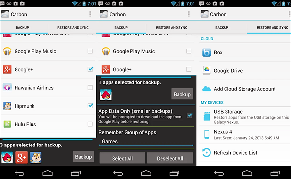 Helium is one of the best Backup Apps for Android to Keep Your Data Safe.