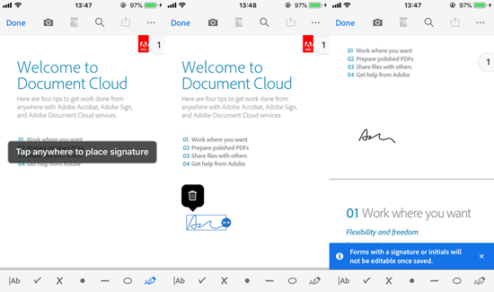 How to Sign PDF Documents Directly on Your iPad or iPhone