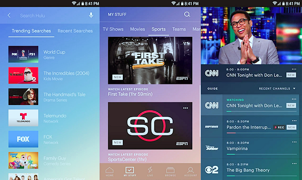 Hulu is best free Android TV Apps Not to be Missed.