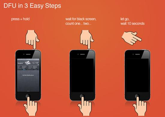 Enter DFU Mode to Fix iPhone Error 1671