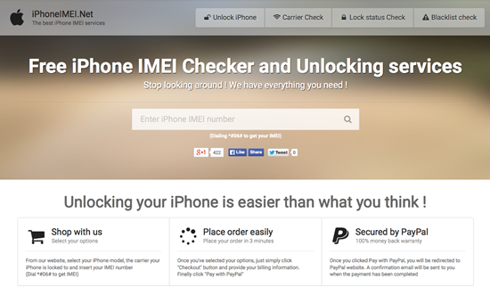 Using iPhoneIMEI.net to Remove Apple ID Activation Lock