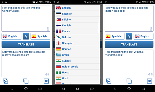 Language Translator is best free Language Translation Apps for Android.