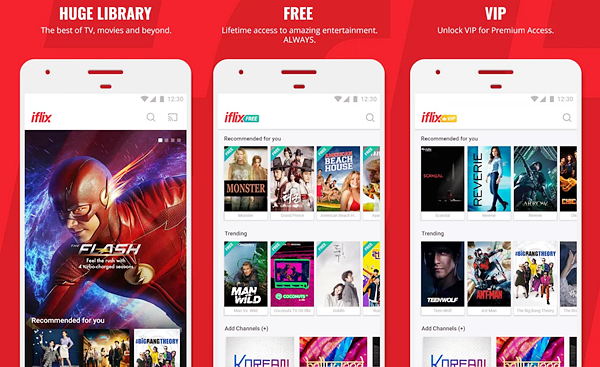 iflix is best free Android TV Apps Not to be Missed.