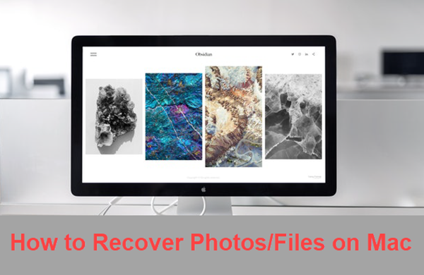 Photo recovery for MacBook or iMac