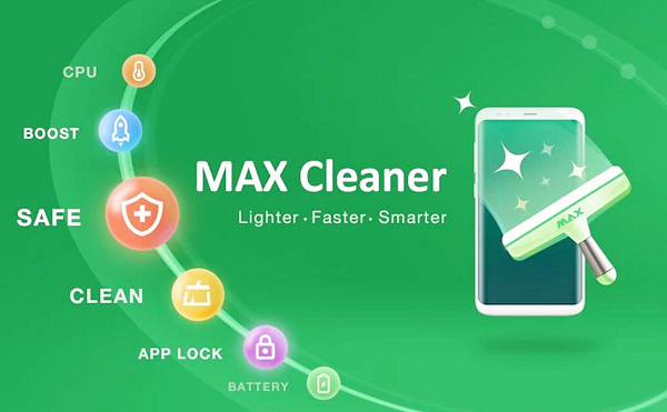 MAX Cleaner is best free Cleaner and Booster Apps for Android Phones.