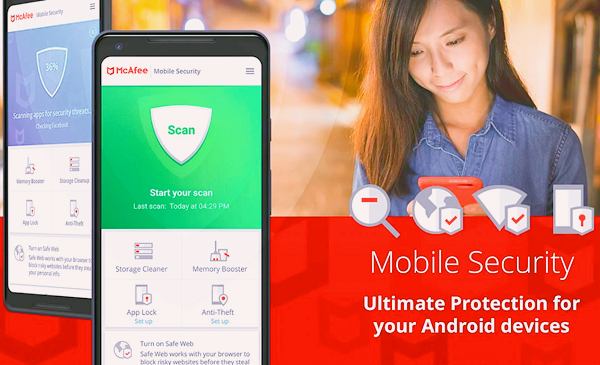 McAfee Mobile Security is one of the best Free Virus Removal Apps for Android.