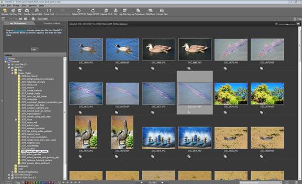 Nikon ViewNX-I – Best Photo Organizer App for Digital Camera Users