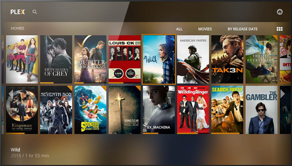 Plex is best Kodi Alternatives.