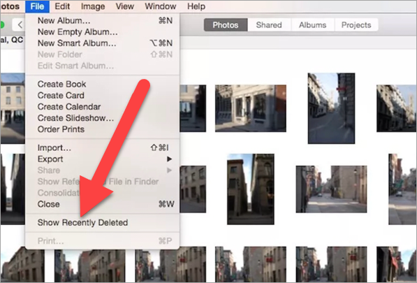 How to Recover Photos on Mac from Recently Deleted Album