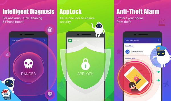 Security Master is one of the best Free Virus Removal Apps for Android.